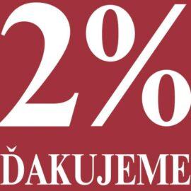 Poukazanie 2% HKFriends
